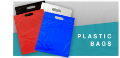 Basket bags, Biodegradable bags, cello bags, clear poly bags, diecut handle bags, frosted bags, magic seal bags, peal and stick bags, plastic notion bags, t-shirt bags, we can print your bag with your logo !